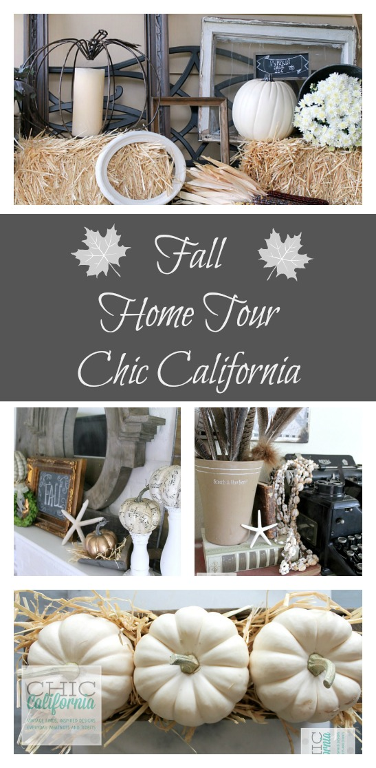 Fall Home Tour from Chic California