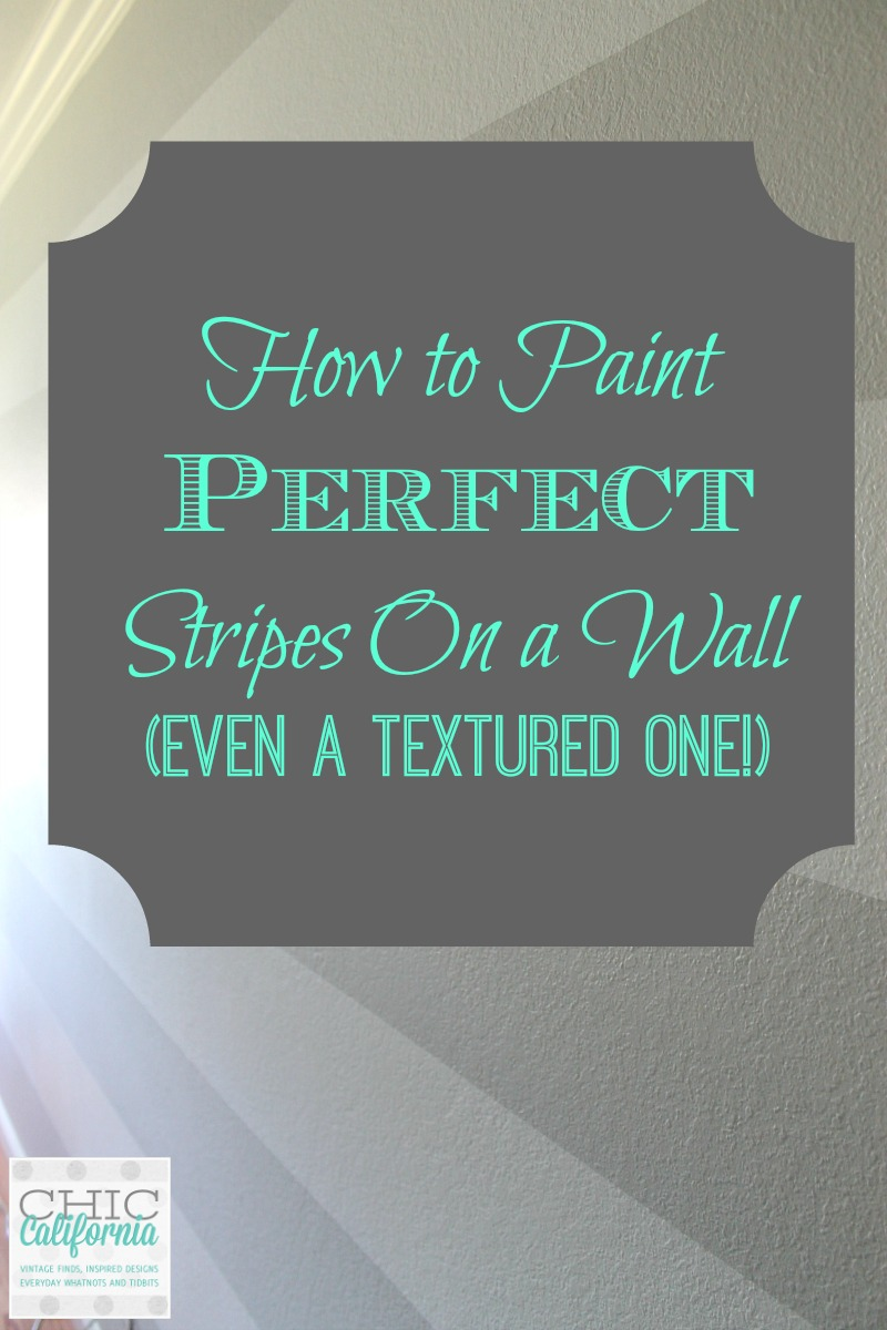 how to paint perfect stripes on a wall even a textured On how to paint stripes on wall without bleeding