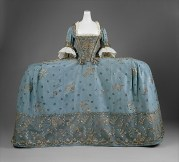 18th Century Court Dress--The Met