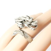 Dragon Ring, Saved From The Fire @ Etsy
