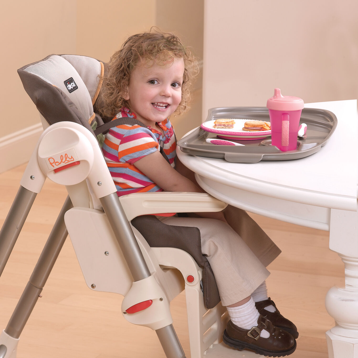 Chicco Polly High Chair Zest Chicco Polly Highchair Zest