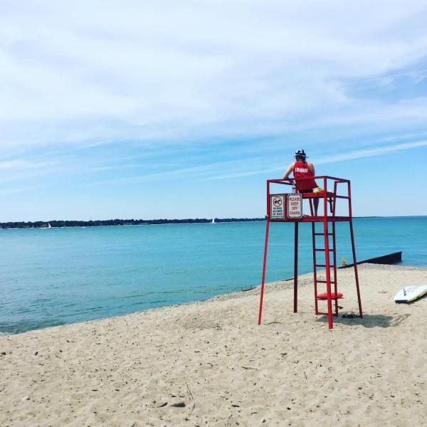 Blue Flag Beach Ontario
