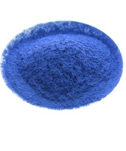 blue mica powder