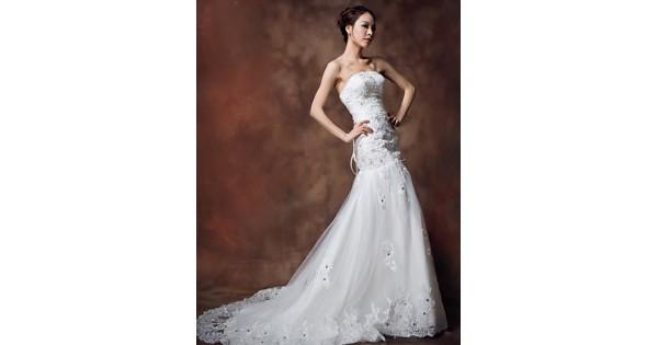 Ball Gown Floor-length Wedding Dress