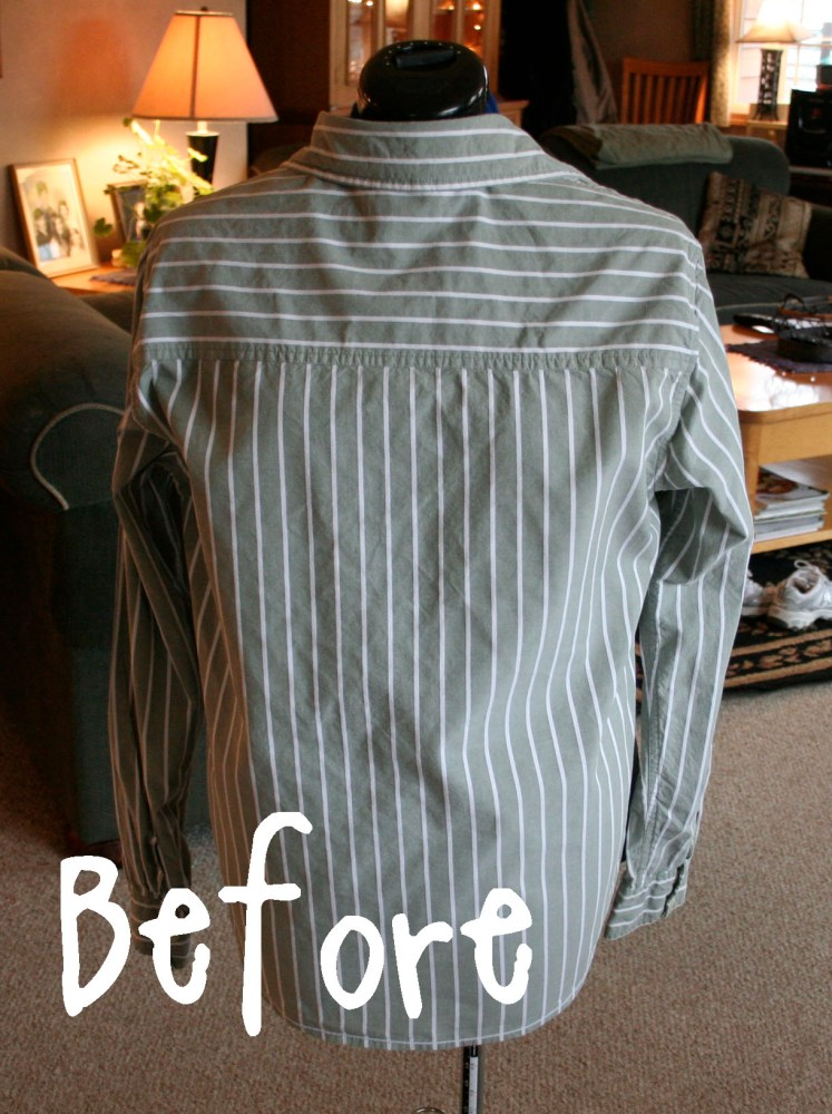 DIY Shirt Refashion (1/6)