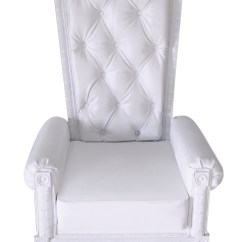 Throne Chairs For Rent Beach Table And Chair Set White Chic Event Wedding Tradeshow