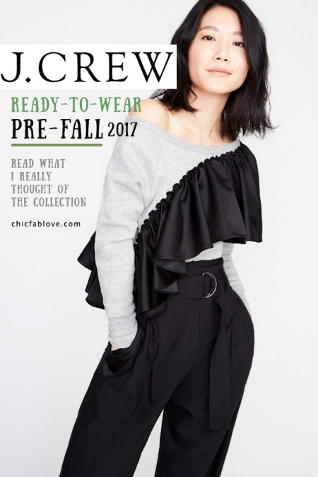 j.crew Pre-Fall Ready to Wear 2017