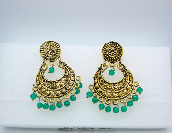 Beads Tassel Drop Earring