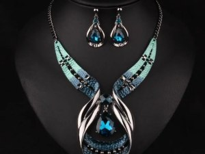 Blue Crystal Jewellery