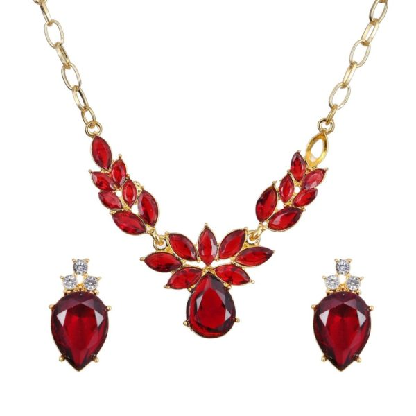 Flower Collar Necklace