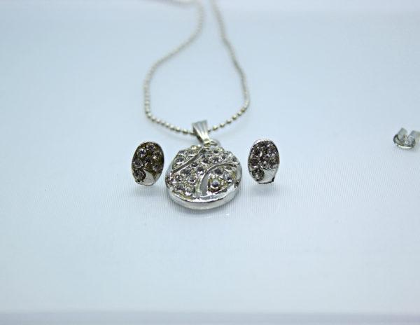 Cubic Pendant Necklace