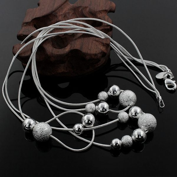 Chic Fashion Silver Plated Necklace