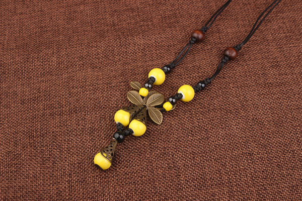 Butterfly Ceramic Yellow 1