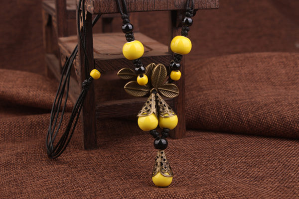 Butterfly Ceramic Yellow 2