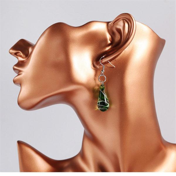 Charm Drop Earring