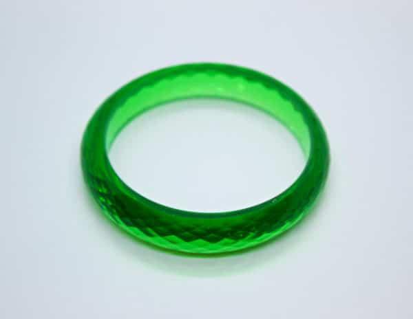 Acrylic Bangle Green