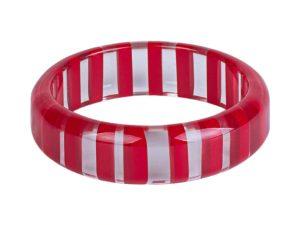 Acrylic-Bangle-Red
