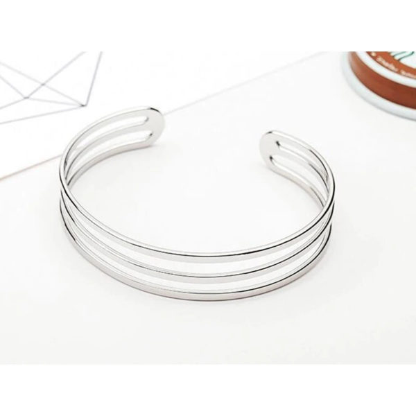 Circle-Cuff-Bracelet-Silver