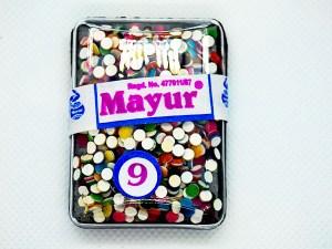 Mayur Bindi Multicolour 9