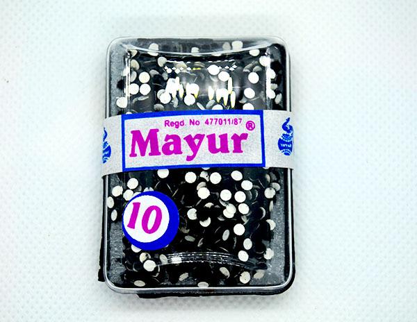 Mayur Bindi Black