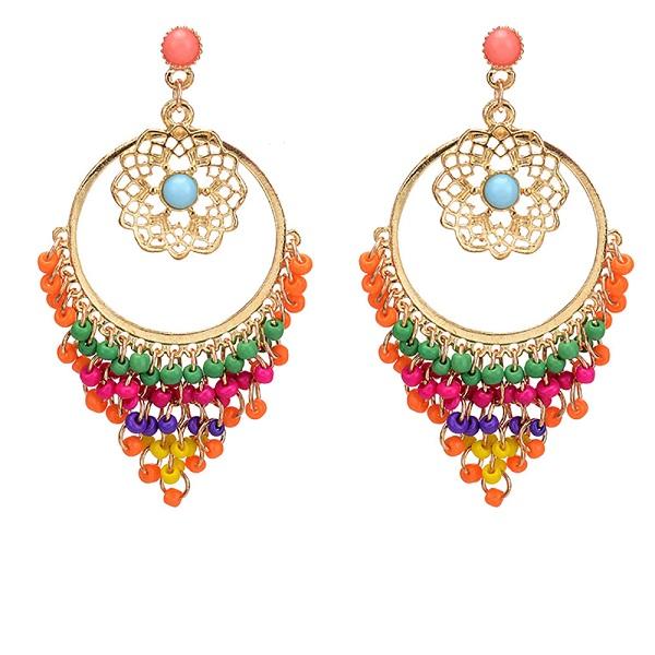 Rainbow Drop Earring