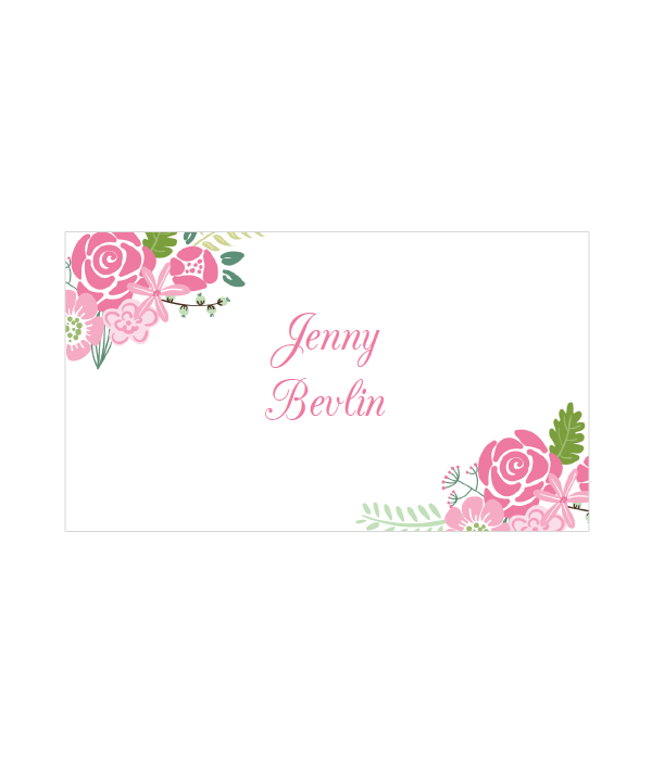 Fl Place Cards
