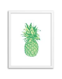 Free Printable Pineapple Wall Art