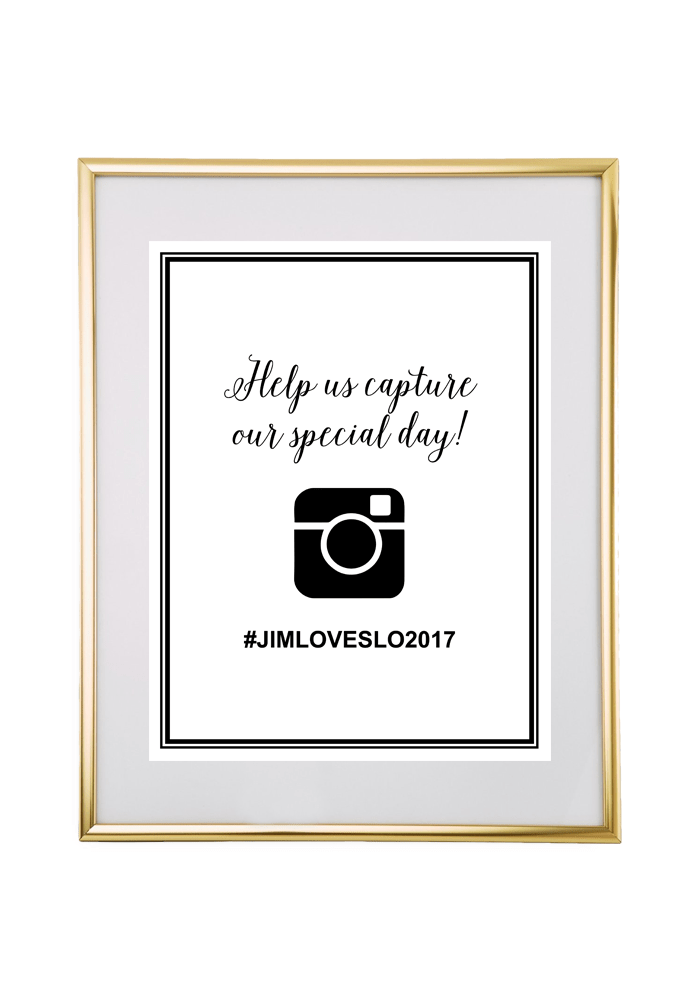 Fall Wedding Hashtags