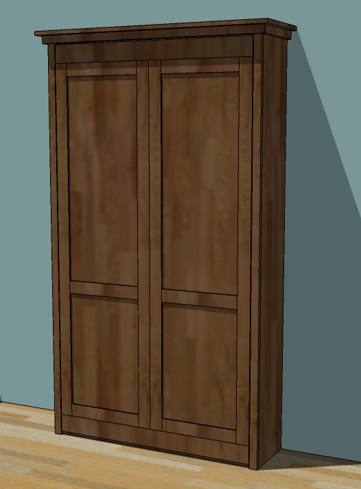 Build Plans For A Murphy Bed DIY cabinet plans for table