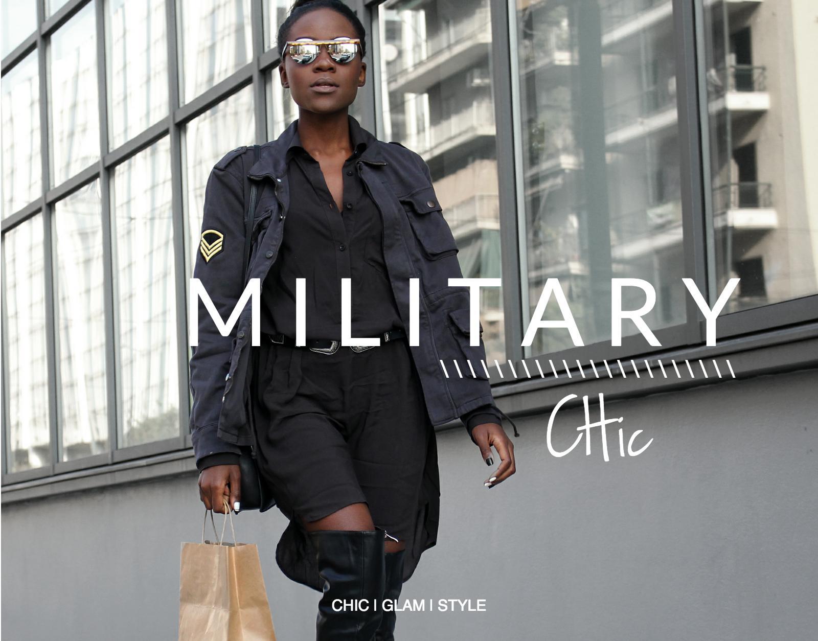 military-chic