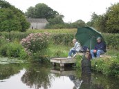 Canal fishing near Hunston