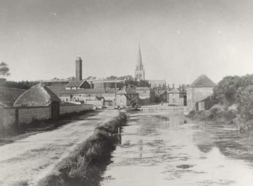 Southgate basin & cathedral