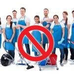 Защо да не наемете фирма за професионално почистване
