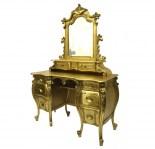 Rococo_Dressing_Table_Gold_Side