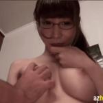 敏感乳首の美巨乳