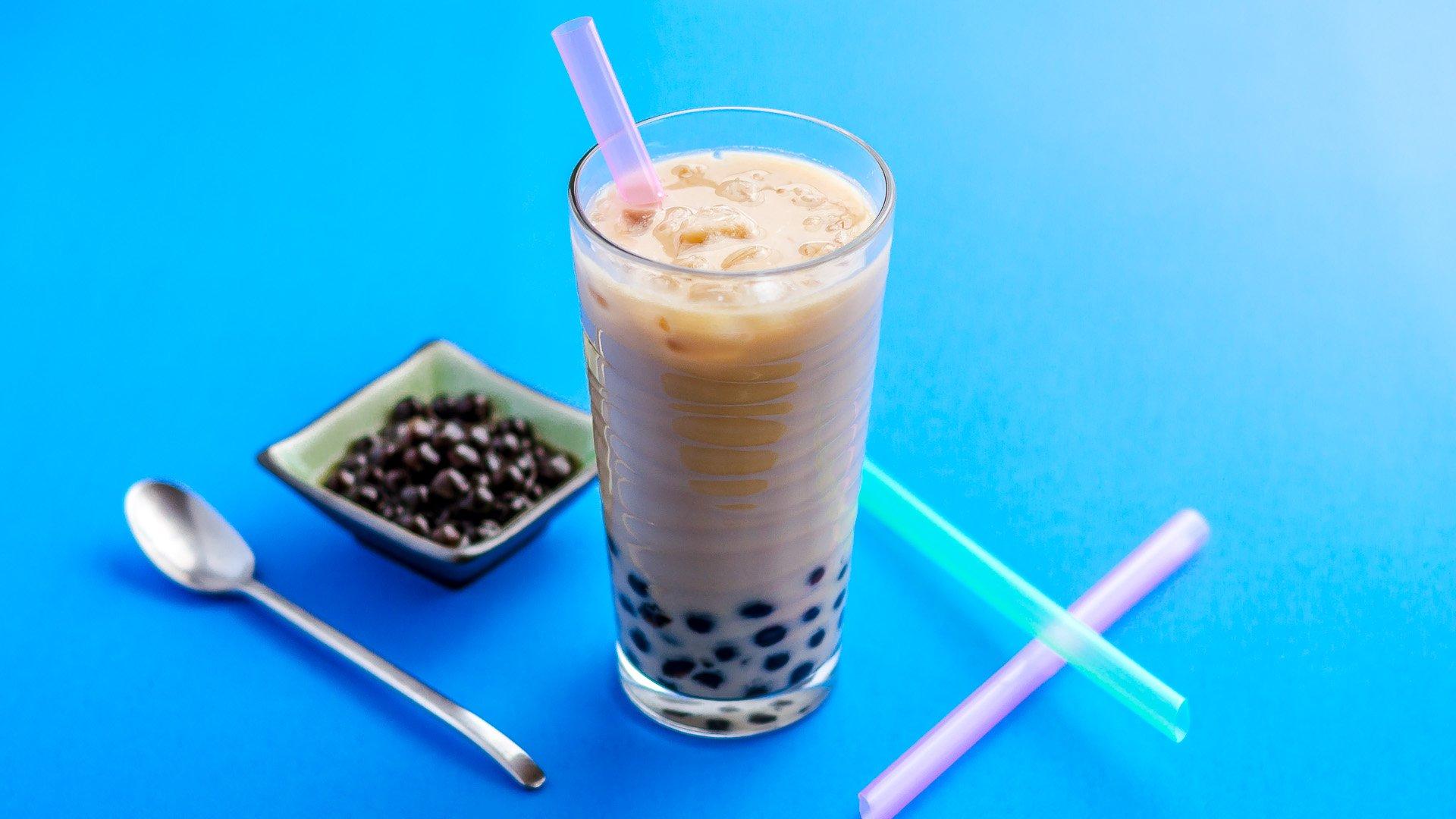 milk tea bubble tea