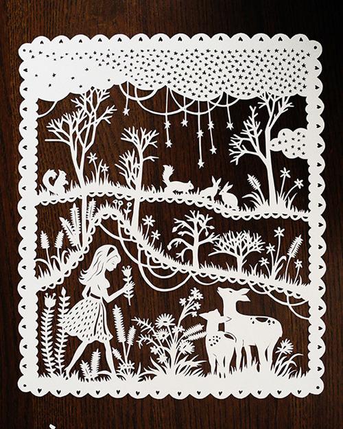 Sarah Trumbauer Papercuts
