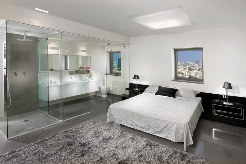 Open Bathroom Concept for Your Master Bedroom  Chic Home Life