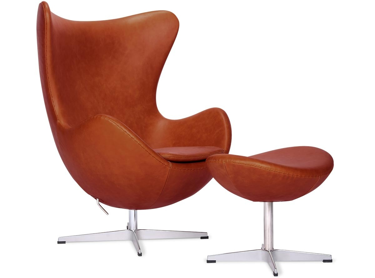 Arne Jacobsen Egg Chair Replica Egg Chair By Arne Jacobsen Leather Platinum Replica Wax