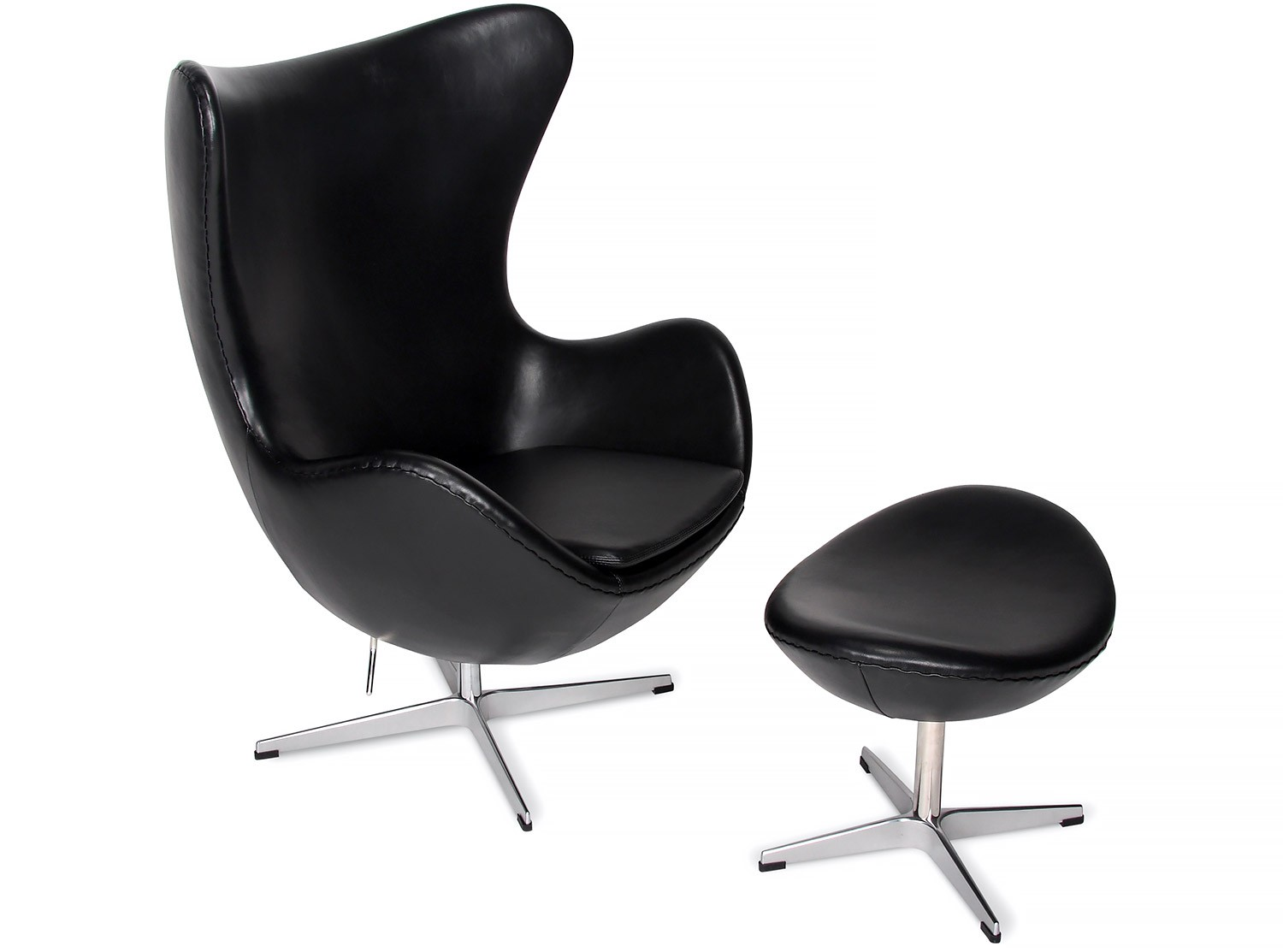 Arne Jacobsen Egg Chair Replica Egg Chair By Arne Jacobsen Leather Platinum Replica