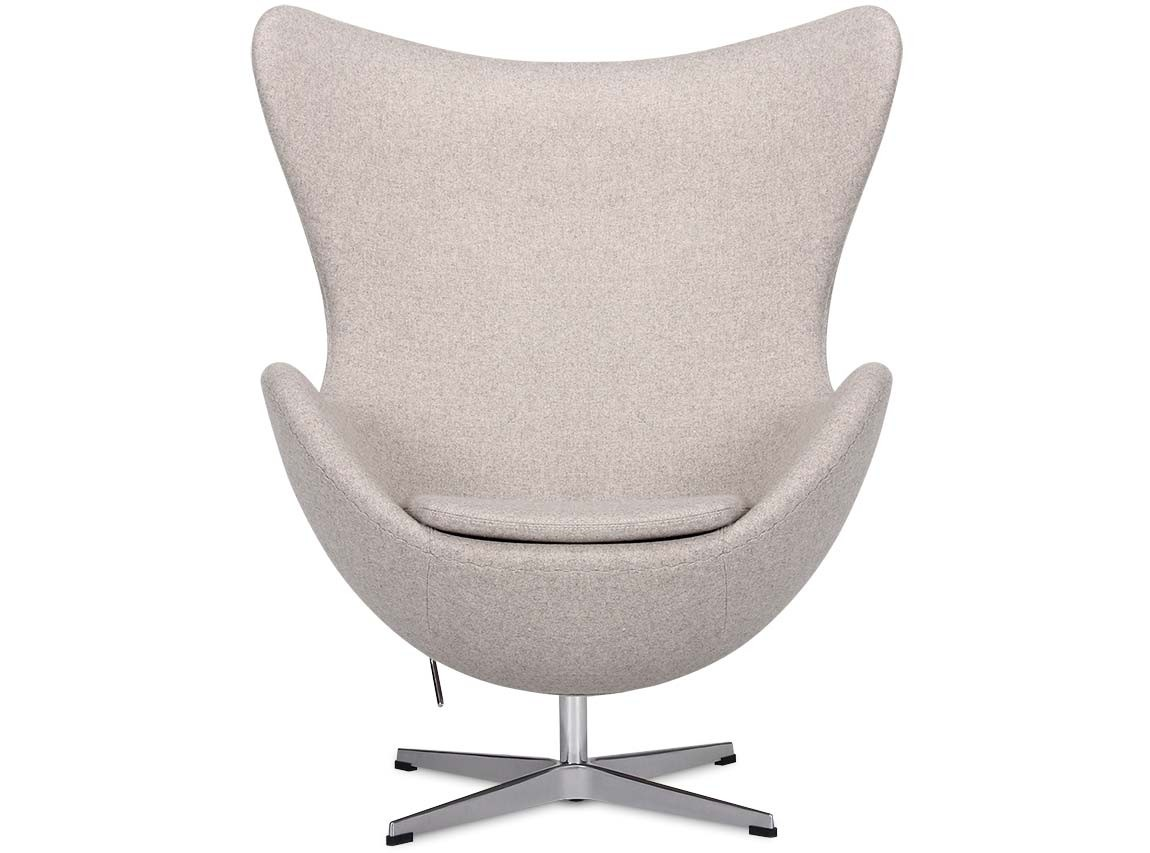 Arne Jacobsen Egg Chair Replica Egg Chair By Arne Jacobsen Platinum Replica