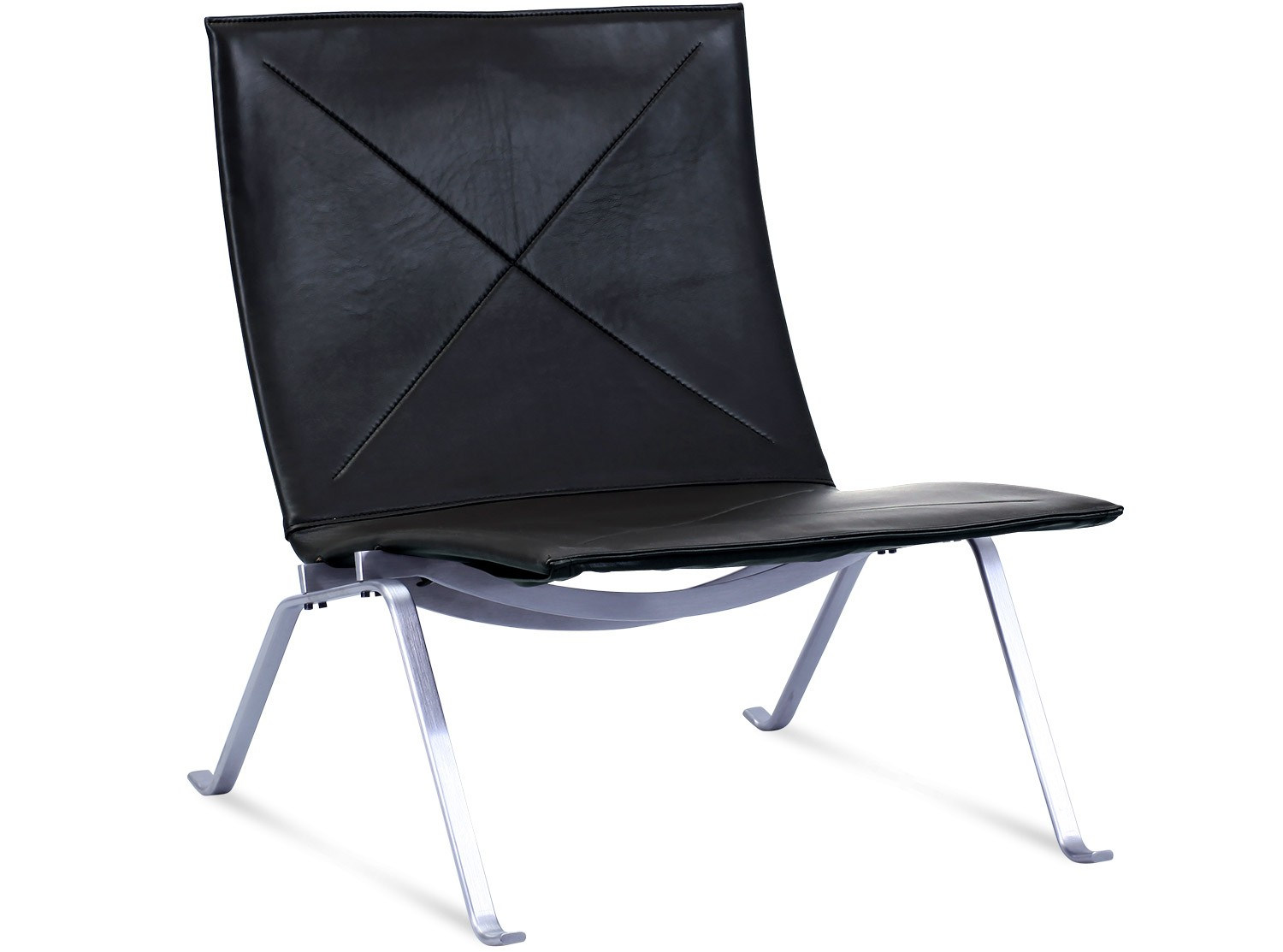 Pk22 Chair Pk22 Lounge Chair By Poul Kjaerholm Platinum Replica