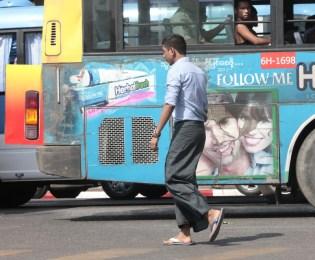 Yangon Street Style Men
