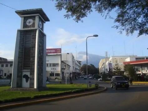 Clock Tower, Arusha, Tanzania