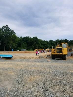 The Barn Begins Construction 6/27/18