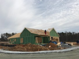 Good looks start with good bones. First house in framing.