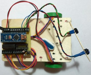 ChickBot with infrared sensors