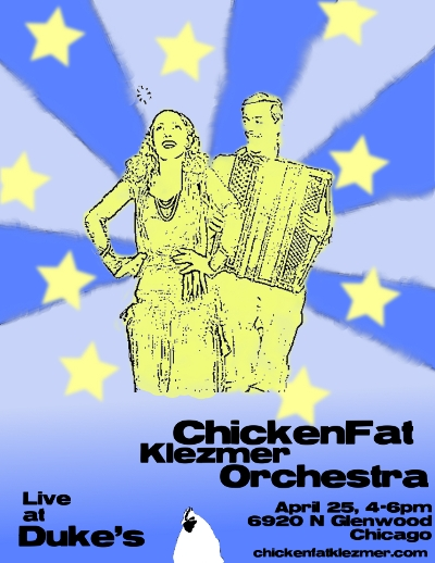 ChickenFat Klezmer Orchestra, live at Duke's