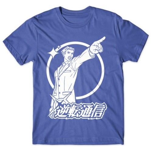 Phoenix Wright - Ace Attorney tshirt kaos baju distro anime kartun jepang