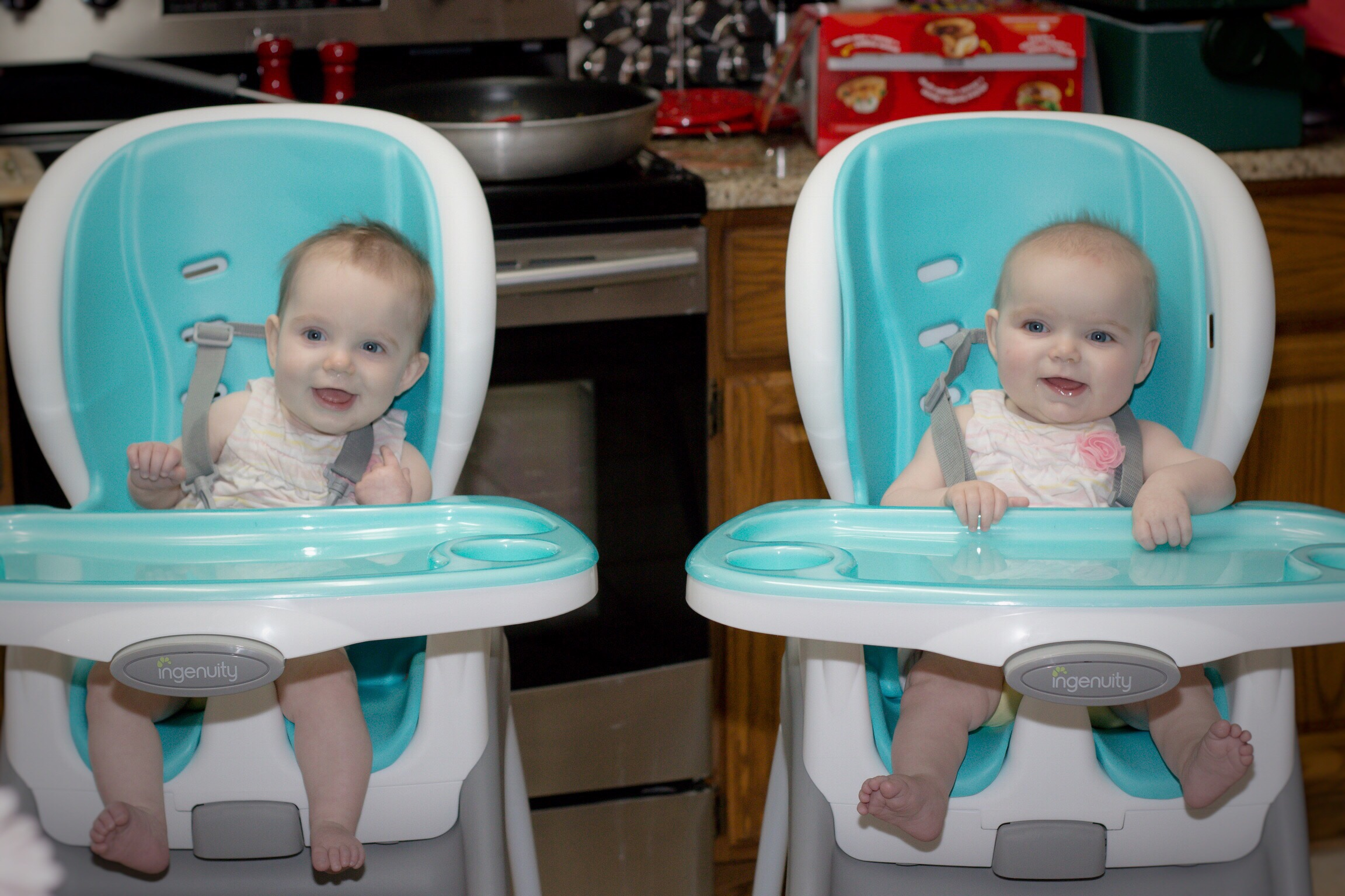 ingenuity high chair 3 in 1 cover desk lumbar pillow mommy review monday trio smartclean chicken minus head